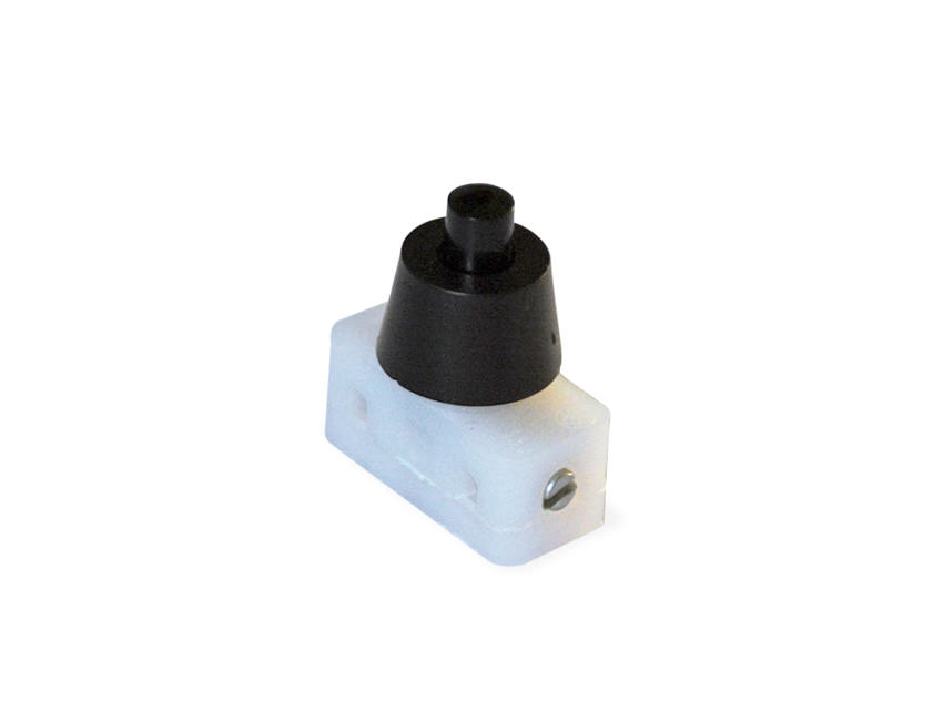 Table Light Switch : Black table lamp press button switch