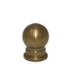 Aged Brass Globe finial