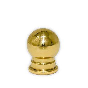 Brass Globe finial
