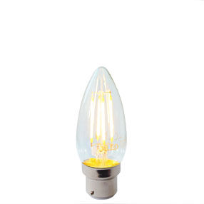 Candle Bayonet Cap LED light bulb