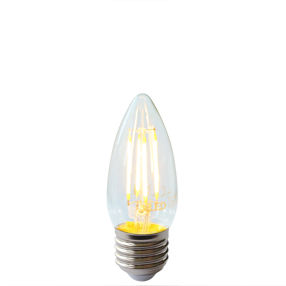 Dimmable LED filament ES Candle bulb E14