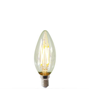 Dimmable LED filament SES Candle bulb E14