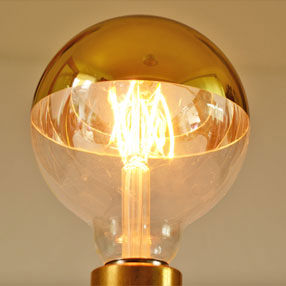 Group Photo of Crown Gold Reflector Cap E27 Light Bulb