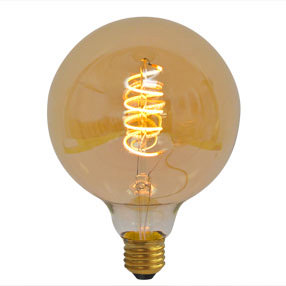 Large Curly filament bulb