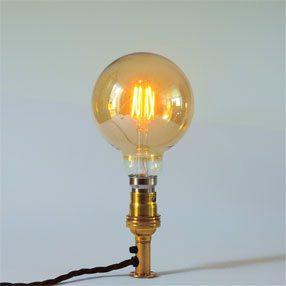 Group Photo of Medium Globe Gold Edison Screw squirrel cage lamp