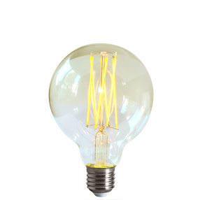 dimmable LED filament medium globe lamp bulb
