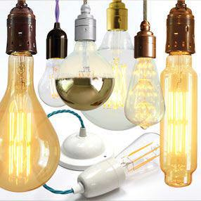 LED light bulbs in all shapes & sizes