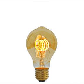 LED Filament ES bulb with curved filaments