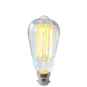 Dimmable LED Vintage Squirrel Cage Style Light Bulb - B22d