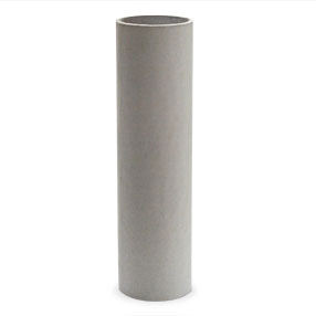 100mm white card candle tube - no drips