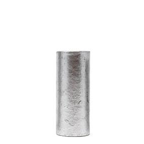Plain silver card chandelier tube 65mm tall