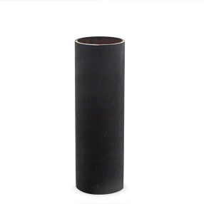 85mm black card candle tube - no drips