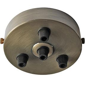 four plastic cordgrip large ceiling plate