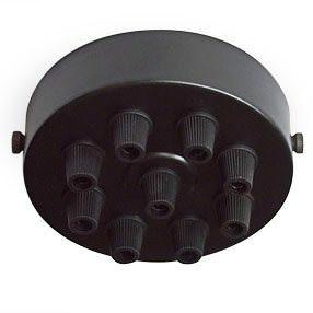 large black multi grip ceiling light plate