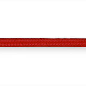 Dramatic red coloured material 3 core lighting flex