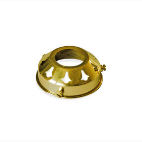 Brass lamp gallery with 28mm hole