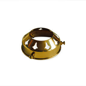 Glass light holder ES hole for glass shade with 2