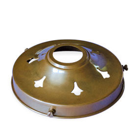 "pierced brass light galleries for 4¼"" fitting lightshades"