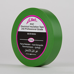 Green Electrical Insulation Tape
