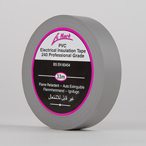 Grey Electrical Insulation Tape