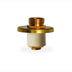 Expandable bung 14-15mm with small brass top plate