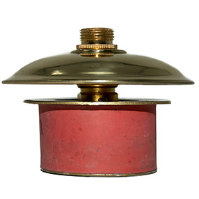 Large rubber bung 40mm with solid brass top