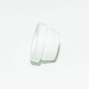 Group Photo of White plastic grommet