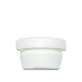 White plastic grommet