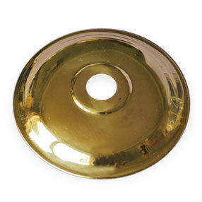 Brass plate with 10mm hole