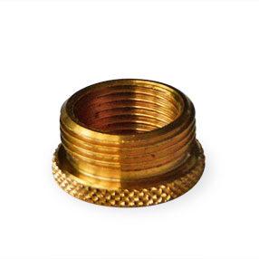 Reducer in brass 5/8