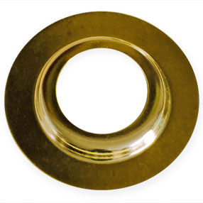 Brass plated Lampshade reducing ring