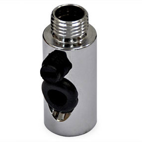 chrome side entry tube