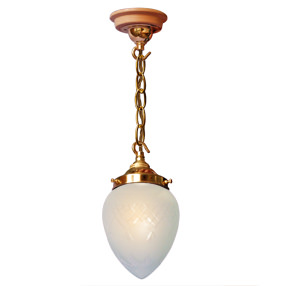 Group Photo of Pineapple ceiling pendant glass light shade