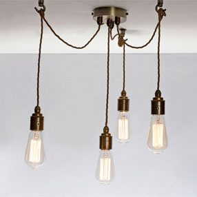 Group Photo of Dimmable LED Vintage Squirrel Cage Style Light Bulb - E27