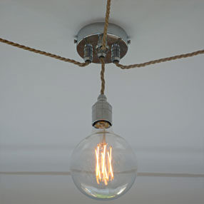 Group Photo of Dimmable LED Mega Edison Globe Squirrel Cage bulb