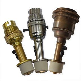 bottle side-entry lampholder and small bung kit