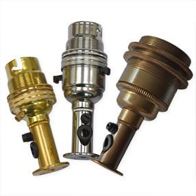 wooden lamp side-entry lampholder kit