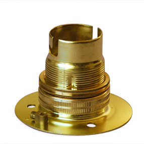 Group Photo of Small brass light shade holder ring