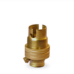 Small bayonet cap threaded bulbholder (SBC)
