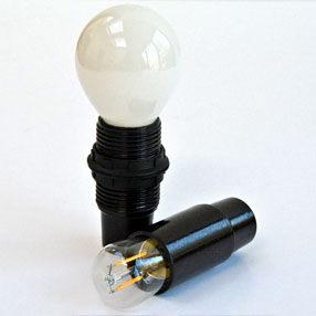 Group Photo of Small Edison Screw plain candle lampholder