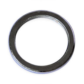 BC small shade ring in chrome for lampholders