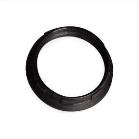 Black Plastic small edison screw light shade ring