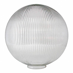 Large Globe Prismatic light shade