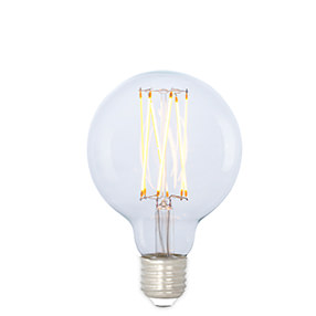 Medium Globe squirrel cage dimmable LED Edison lamp