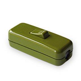 sage green rocker table lamp switch