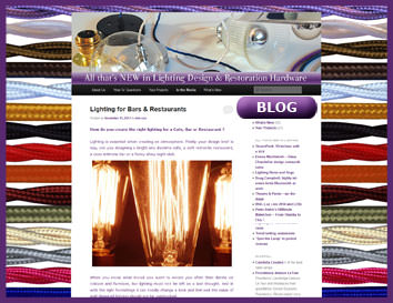 Blogging with Lamps and Lights
