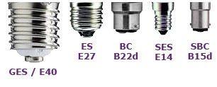 Bulb bases explained