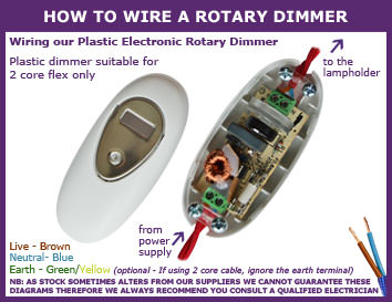 How to Wire a Rotary Dimmer