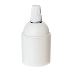 white cord grip plastic lampholder without rings