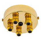 brass multi cord grip ceiling plate
